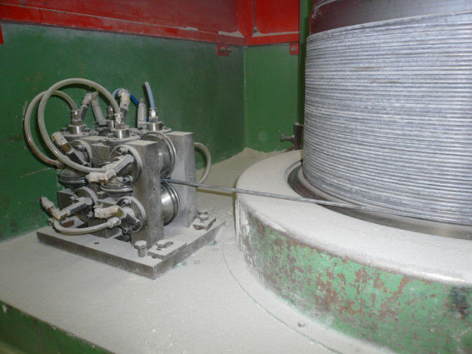 Wear - Resistant  Dry / Wet Wire Drawing Machine Parts With Spring Wire / Wire Rope